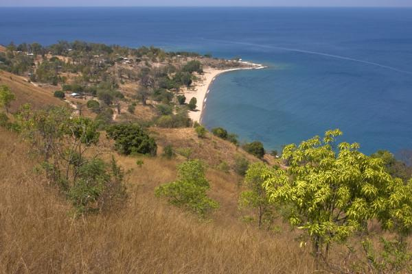 Picture of Lake Malawi and Likoma landscape seen from a hill