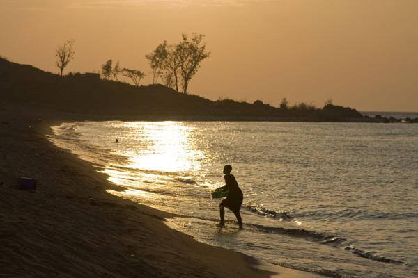 At the beach, just before sunset | Likoma Island | Malawi