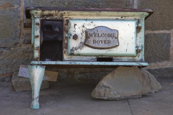 One of the items outside the Stone House | Livingstonia | Malawi