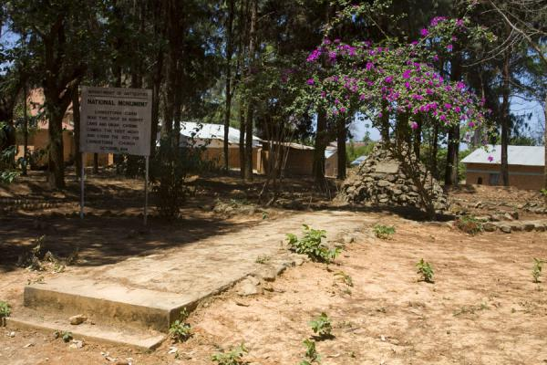Livingstonia cairn, where the site of the Livingstonia church was chosen | Livingstonia | Malawi
