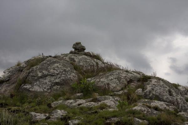 Foto di Rocks on Mount MulanjeMulanje - Malawi