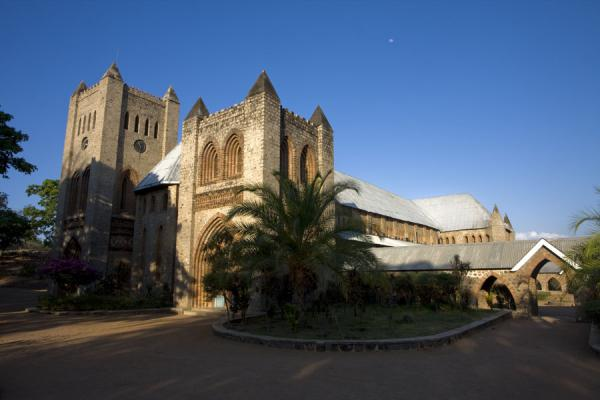 Picture of Saint Peter's Cathedral (Malawi): Sturdy St. Peter's Cathedral in the afternoon