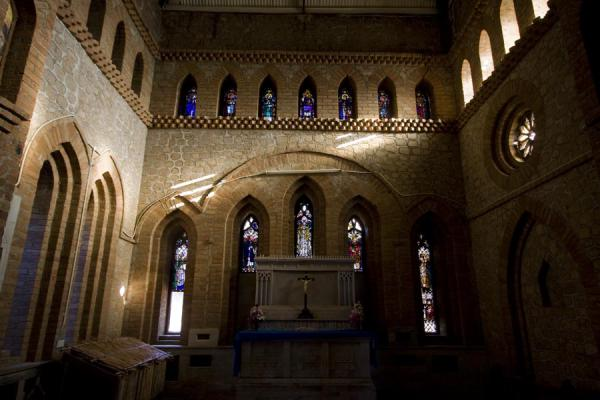 North transept of St. Peter's Cathedral | Saint Peter's Cathedral | Malawi