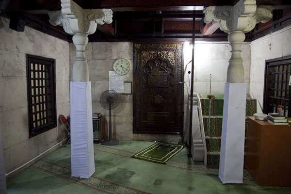 Picture of Maldives (The mihrab on the western side of the Old Friday mosque)