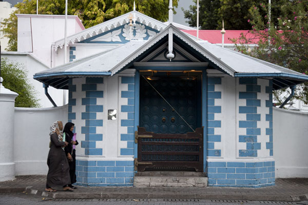 The entrance of the presidential palace | Malé | Maldivas