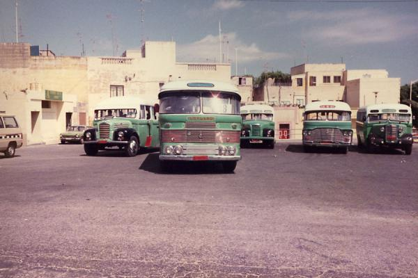 Photo de Malte (Maltese buses)