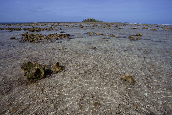 Looking west from Eneko towards Kiddenen Island | Eneko Island | Marshall Islands