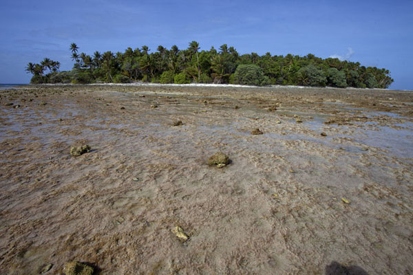 One of the many islets east of Eneko | Eneko Island | Marshall Islands