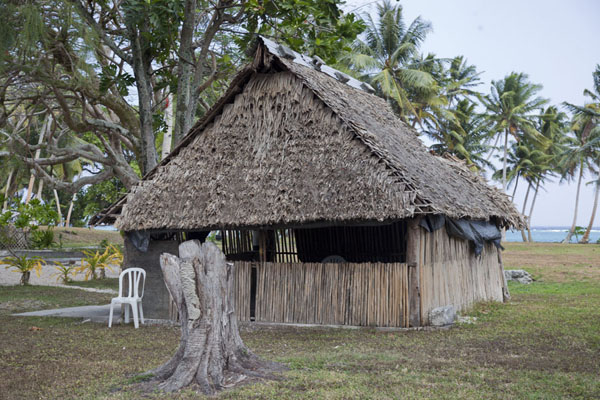 Picture of Laura (Marshall Islands): Traditional building found in Laura