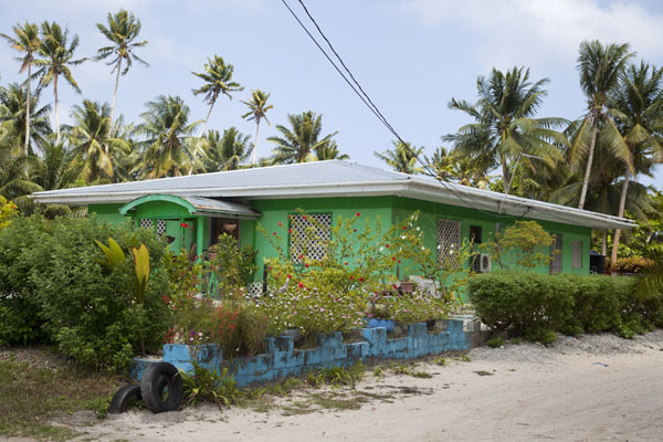 Picture of Laura (Marshall Islands): Typical house in Laura