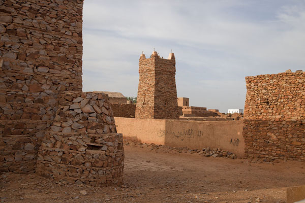 Picture of Chinguetti (Mauritania): The focal point of the holy city of Chinguetti: the ancient Friday mosque