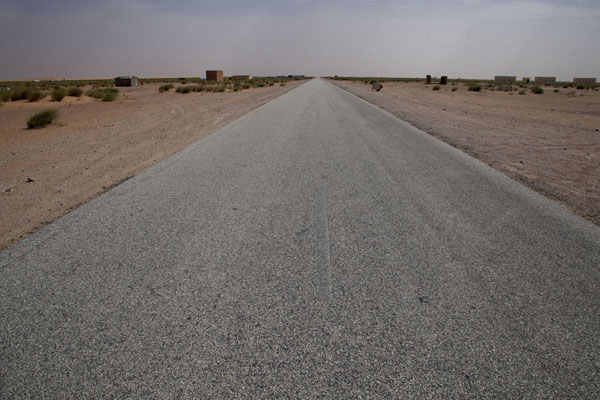 Picture of The long straight road to NouakchottNouakchott - Mauritania