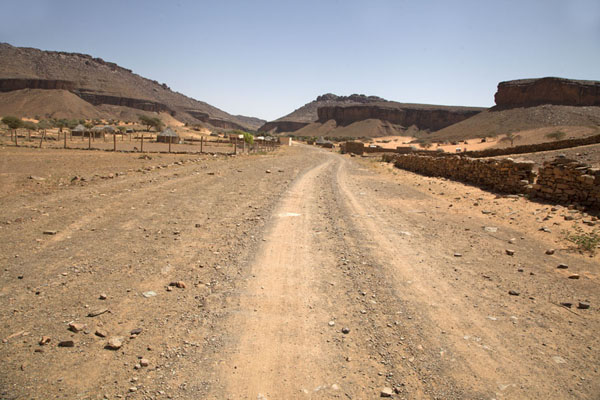 The road to Terjit in the afternoon | Terjit | Mauritania