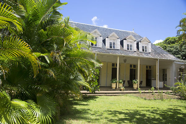 View of the colonial building of Eureka | Eureka | Mauritius