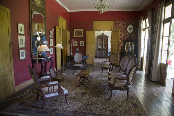 Picture of Room in the colonial building of Eureka - Mauritius - Africa