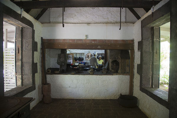 Picture of The kitchen of Eureka - Mauritius