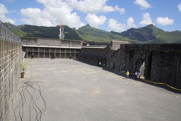 The courtyard of Fort Adelaide | Fort Adelaide | Mauritius