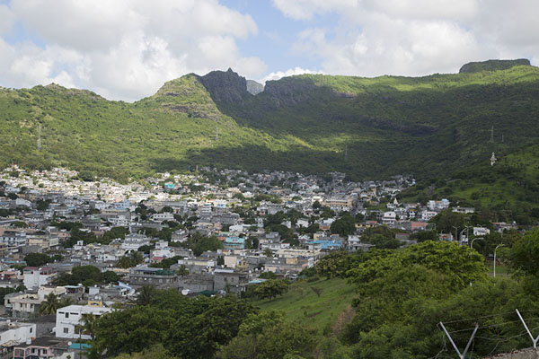 View of the hinterland of Port Louis from Fort Adelaide | Fort Adelaide | Mauritius