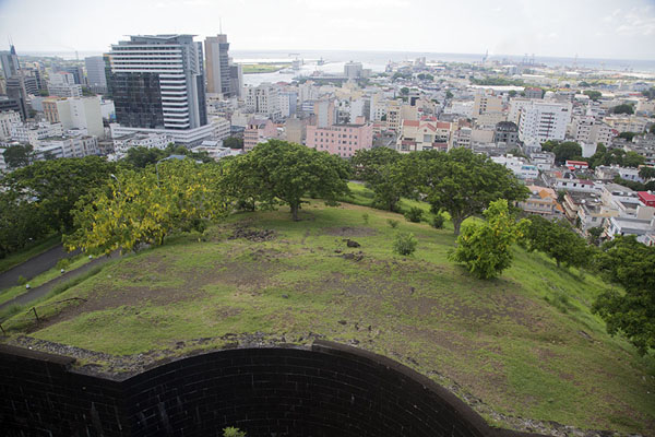 View over Port Louis from the walls of Fort Adelaide | Fort Adelaide | Mauritius