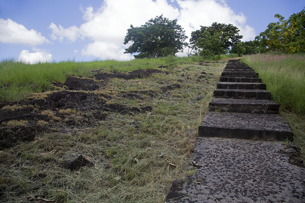 The spot where I was mugged back in 1999 | Fort Adelaide | Mauritius