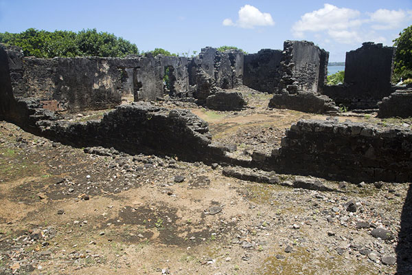 Ruins of the French fort | Fort Frederik Hendrik | Mauritius