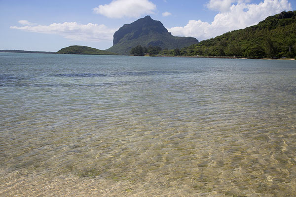 Le Morne Brabant seen from the east | Le Morne Brabant | Mauritius