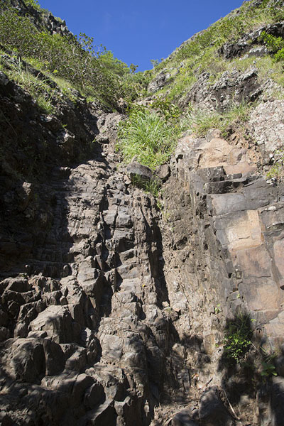 The rocky stretch on the slopes of Le Morne Brabant | Le Morne Brabant | Mauritius
