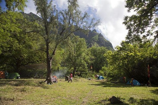 Rasta camp at the foot of Le Morne Brabant | Le Morne Brabant | Mauricio