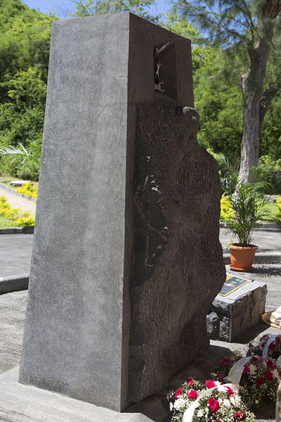 Photo de Part of the monument for the abolition of slaveryLe Morne Brabant - Maurice