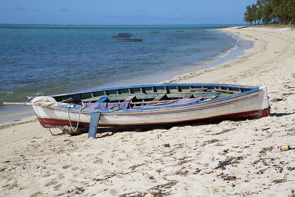 Foto van Beach close to GravierEast Rodrigues - Mauritius