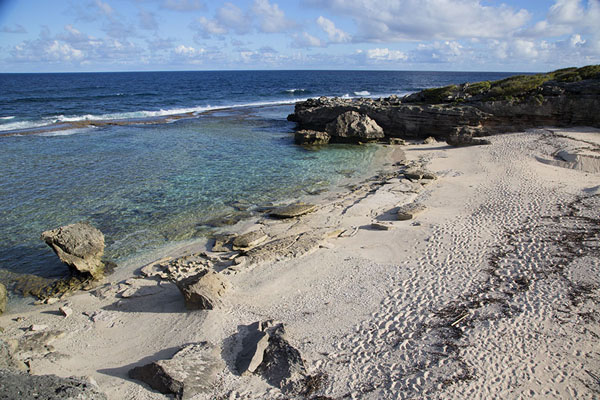 Picture of Grande Anse beach, deserted in the afternoonEast Rodrigues - Mauritius
