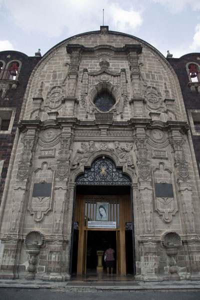 Picture of The exterior of the Iglesia del Cerrito on top of Tepeyac hillMexico City - Mexico