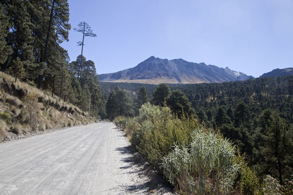 Picture of Nevado de Toluca seen from the northwestNevado de Toluca - Mexico