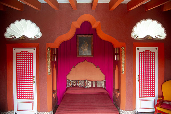 Foto van Josephine Baker bedroom, one of the simplest rooms in the museum - Mexico - Amerika