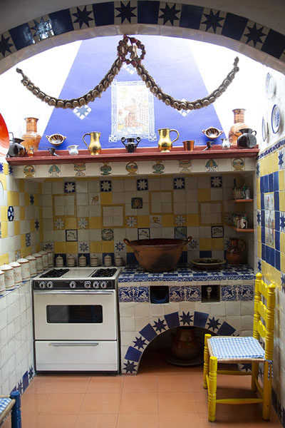 Part of the kitchen | Robert Brady Museum | Mexico