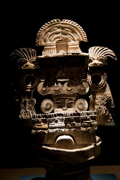 Picture of Teotihuacan (Mexico): Mask at the museum of Teotihuacan