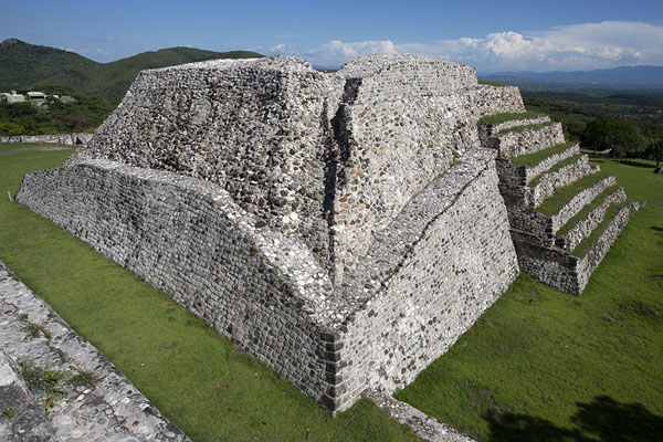 The Great Pyramid seen from above | Xochicalco | Messico