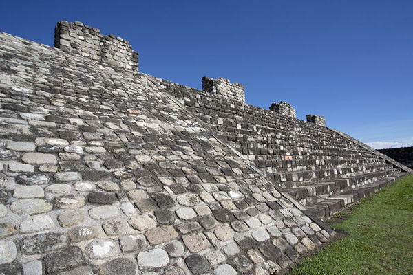 The Temple of the Three Stelae | Xochicalco | Messico
