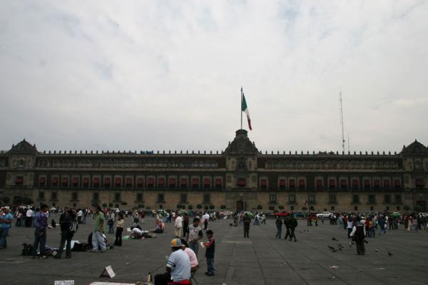 Picture of National Palace and ZocaloMexico City - Mexico