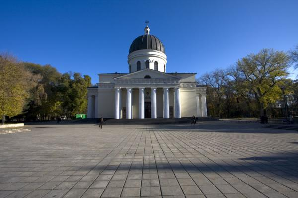Picture of Nativity cathedral (Moldova): Nativity Cathedral is the centrepiece of Cathedral Park