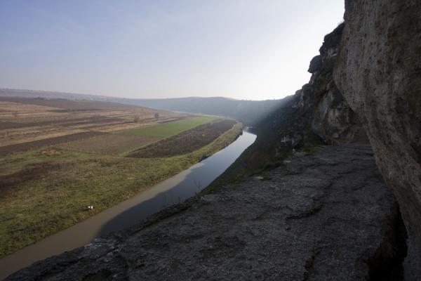 Picture of View over the landscape of Orheiul Vechi from the balcony of Pestera HermitageOrheiul Vechi - Moldova