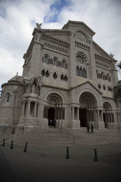 Cathedral of Monaco in the old town | Monaco ville | Monaco