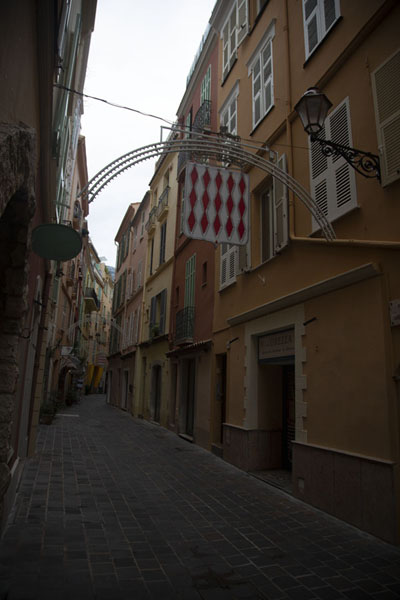 One of the streets in the old town of Monaco | Monaco City | 摩纳哥
