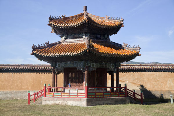 One of the pavilions at Amarbayasgalant Khiid | Amarbayasgalant Khiid | Mongolia