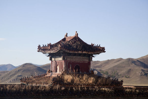Drum tower of Amarbayasgalant Khiid | Amarbayasgalant Khiid | Mongolia