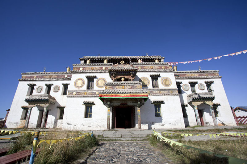 Lavrin Süm, the Tibetan-Style temple in the north of the compound | Erdene Zuu Khiid | Mongolia