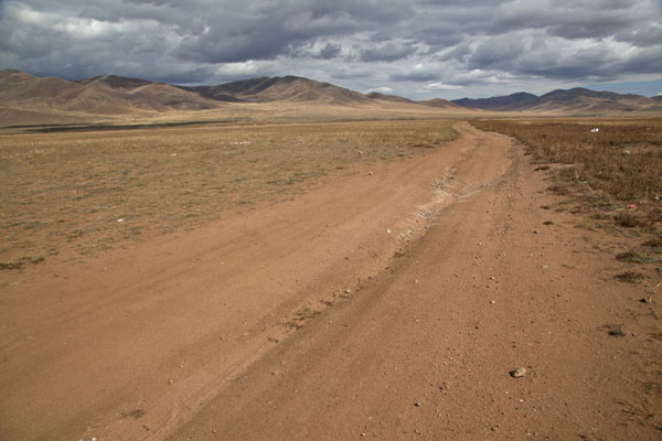 Road just outside Mörön | Mörön | Mongolia