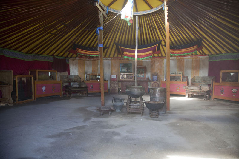 Picture of Interior of the museum of Ongiin KhiidOngiin Khiid - Mongolia