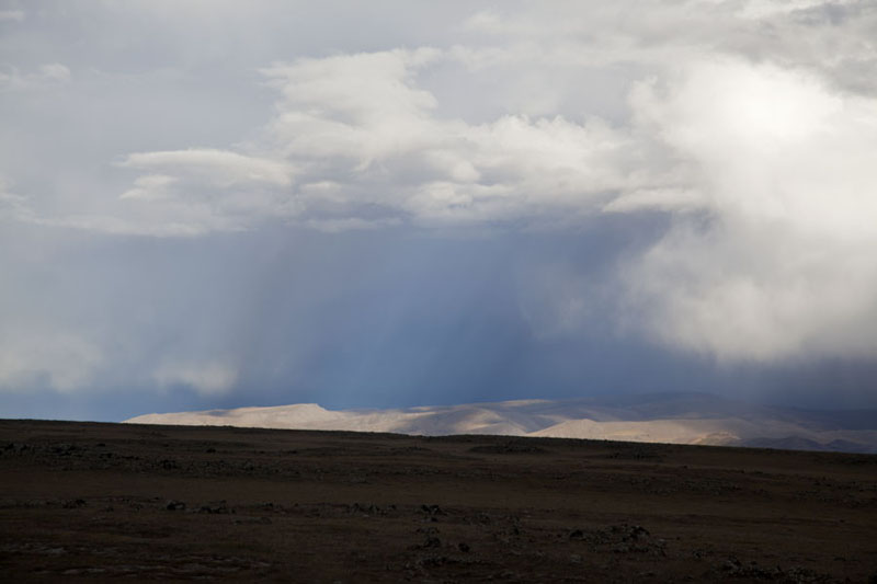 Photo de Huge clouds over Orkhon valleyVallé Orkhon - Mongolie