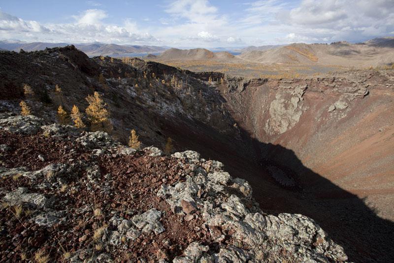 Crater rim of Khorgo volcano | Terkhiin Tsagaan Nuur | Mongolia